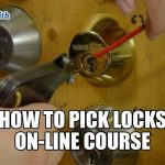 Locksmith Course Winnipeg