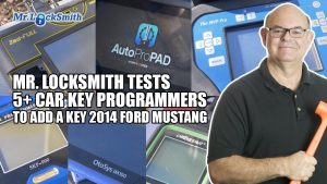 Mr. Locksmith Tests 5+ Car Key Programmers on 2014 Ford Mustang Mr. Locksmith™ Winnipeg